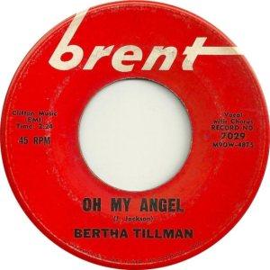 TILLMAN BERTHA 62 A