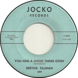 TILLMAN BERTHA 64 A