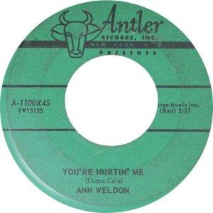 WELDON ANN 59 A