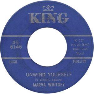 WHITNEY MARVA - 68 A