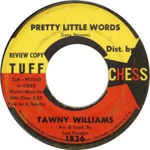 WILLIAMS TAWNEY 62 A