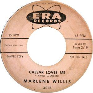 WILLIS MARLENE 60 A