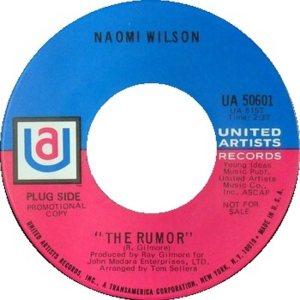 WILSON NAOMI 69 A