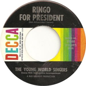 YOUNG WORLD SINGERS 64 A