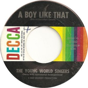 YOUNG WORLD SINGERS 64 B