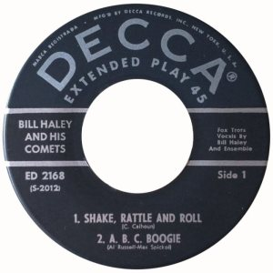 1954 EP - DECCA 2168 C