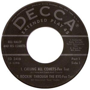 1956 EP - DECCA 2416 C