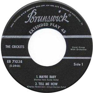 1957-12 BRUNSWICK EP 71038 C