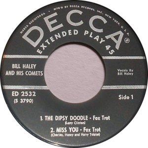 1957 EP - DECCA 2532 C