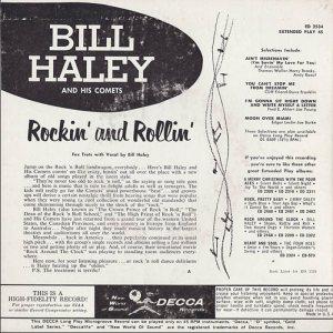 1957 EP - DECCA 2534 B