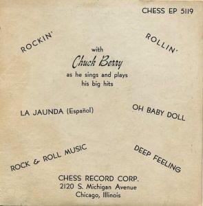 1958-01 - CHESS EP 5119 B