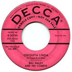 1958 - DECCA 30741 B