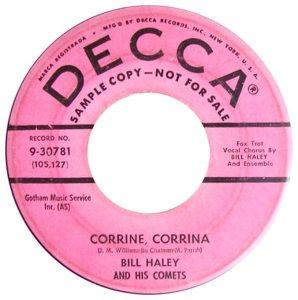1958 - DECCA 30781 A