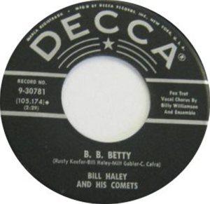 1958 - DECCA 30781 C