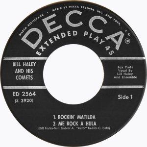 1958 - DECCA EP 2564 A (3)