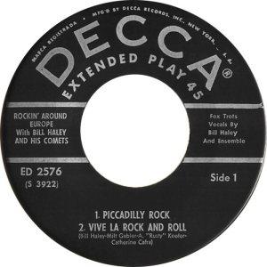 1958 - DECCA EP 2576 A (2)