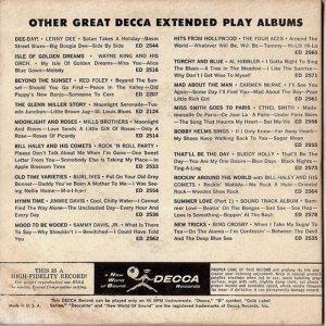 1958 - DECCA EP 2577 A (2)