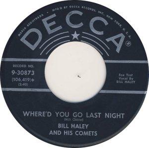 1959 - DECCA 30873 B
