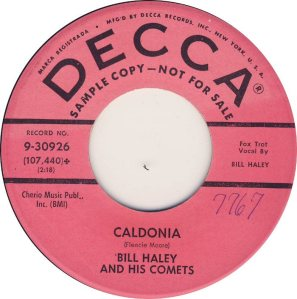 1959 - DECCA 30926 A
