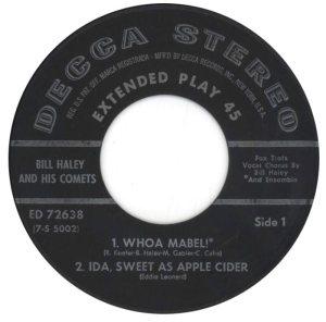 1959 - DECCA EP 2638 B