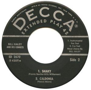 1959 - DECCA EP 2670 C