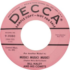 1960 - DECCA 31080 A