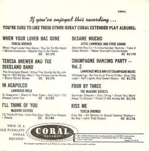 1962-06 CORAL EP 81191 B