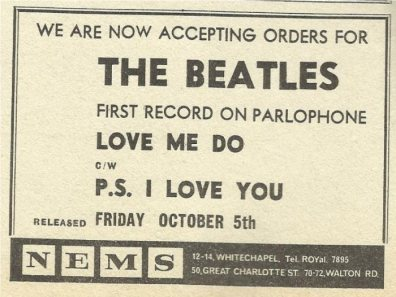 1962-10-13 - LOVE ME DO PR