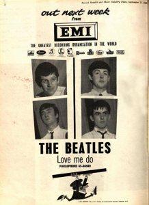 1962-10-13 - LOVE ME DO SM