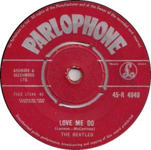 1962-10-13 - LOVE ME DO