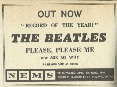 1963-01-19 - PLEASE PLEASE ME PR