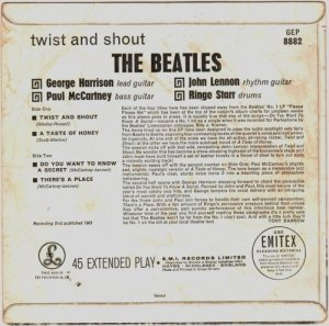1963-07-20 - TWIST & SHOUT BC