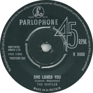 1963-08-31 - SHE LOVES YOU
