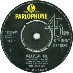 1963-09-21 - BEATLE HITS R
