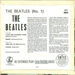 1963-11-09 - BEATLES NO 1 B