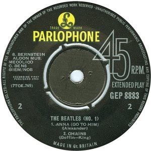 1963-11-09 - BEATLES NO 1 D