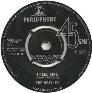 1964-12-05 - I FEEL FINE A