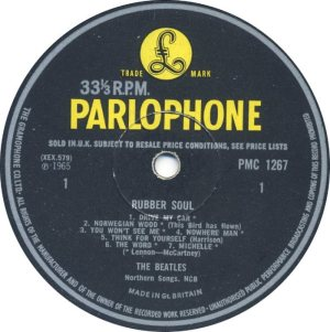 1965-12-11 - LP RUBBER SOUL C