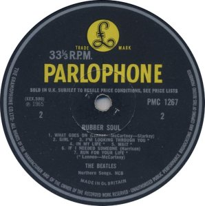 1965-12-11 - LP RUBBER SOUL D