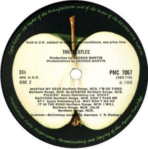 1968-12-07 - LP WHITE E