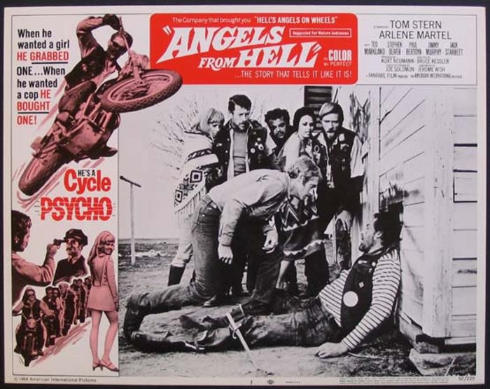 ANGELS FROM HELL 1968 PEANUT BUTTER