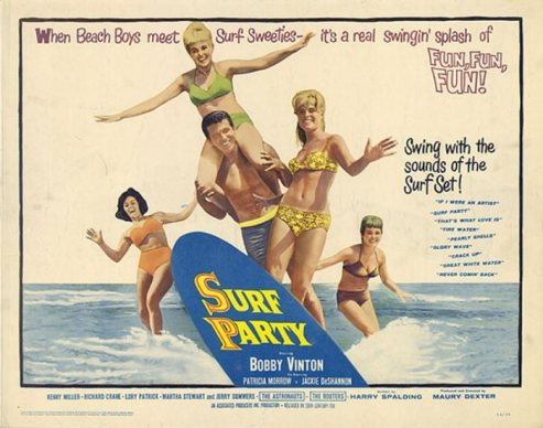 ASTRONAUTS - SURF PARTY MOVIE POSTER