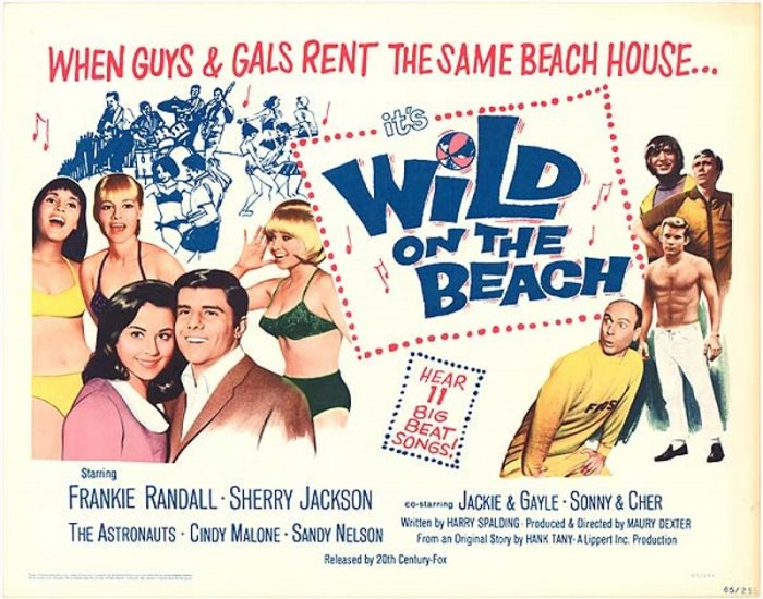 ASTRONAUTS - WILD ON BEACH POSTER
