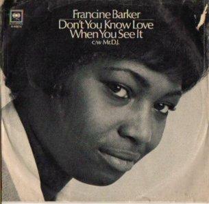BARKER FRANCINE 68 A