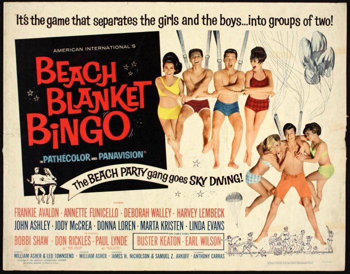 BEACH BLANKET BINGO 1965