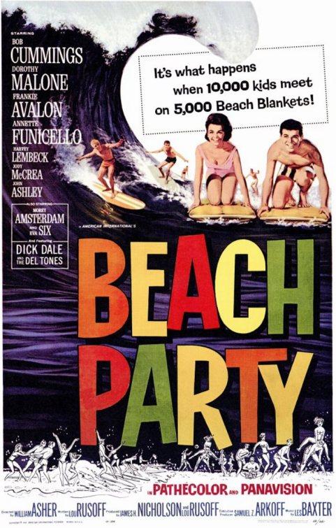 BEACH PARTY 1963
