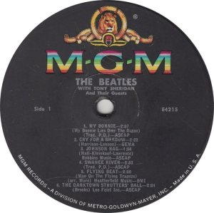 BEATLE LP LABEL 03