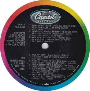 BEATLE LP LABEL 04
