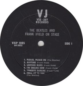 BEATLE LP LABEL 05