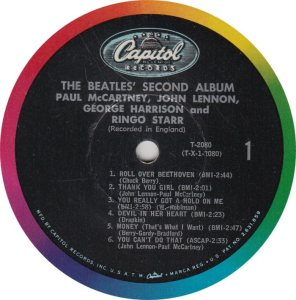 BEATLE LP LABEL 06